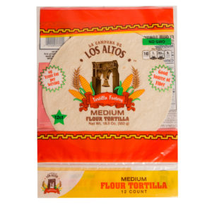 Los Altos Flour Tortilla - Medium