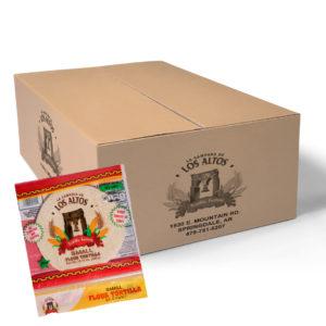Los Altos Flour Tortilla small - Case