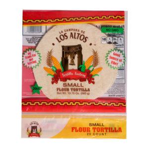 Los Altos Small Flour Tortilla 20 ct